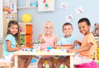 children showing their genuine smile